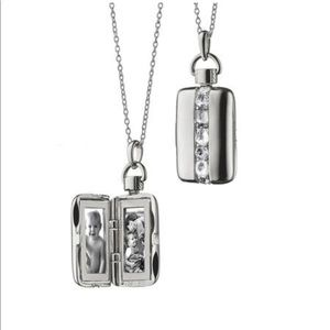 Monica Rich Kosann sterling silver locket